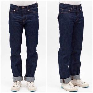 NWT Tellason Stock Straight Leg Jeans Size 42